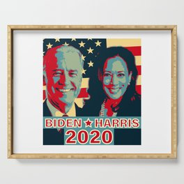 Joe Biden Kamala Harris 2020 Serving Tray
