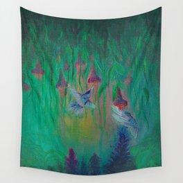 Hummingbirds Wall Tapestry