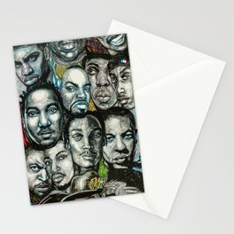 History of Rap 90s Stationery Cards