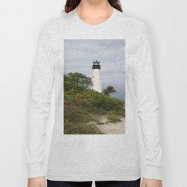 Bill Baggs - Cape Florida Light Long Sleeve T-shirt
