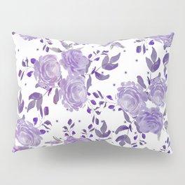 Bouquet of Purple Roses Pillow Sham