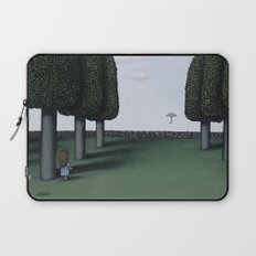 The First To See It Laptop Sleeve