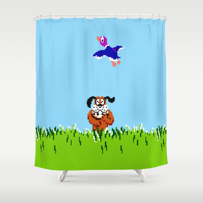 Duck Hunt Shower Curtain