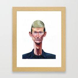 Tim Cook Framed Art Print