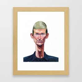 Tim Cook Framed Art Print