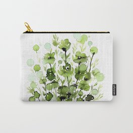 Floral Charm No.1I by Kathy Morton Stanion Carry-All Pouch