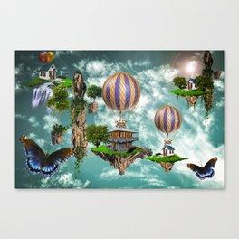 Balloon House Canvas Print