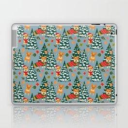 Merry Corgmess Laptop & iPad Skin
