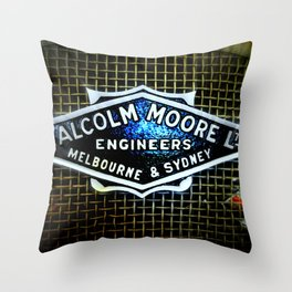 Train Grill Throw Pillow