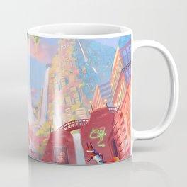 Colored City Coffee Mug
