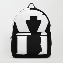 Vermont Pride USA State Love Map Backpack