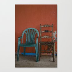LONELY CHAIRS #6 Canvas Print