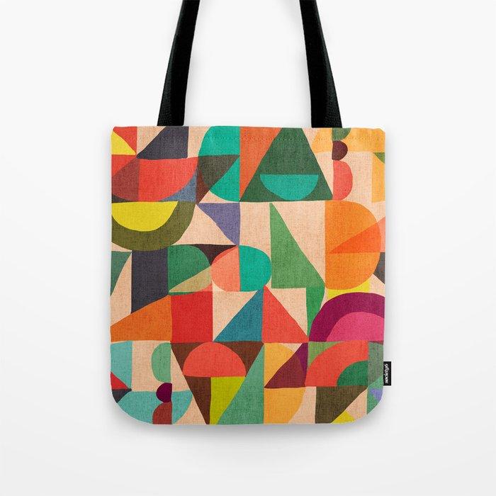 Color Field Tote Bag