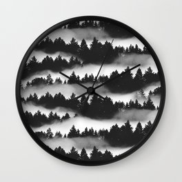 Don't Get Lost in Mist Wall Clock