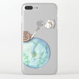 The Encounter Clear iPhone Case