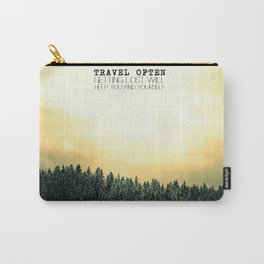 Travel Often Carry-All Pouch