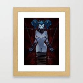 DEVIOUSLY FETTERED Framed Art Print