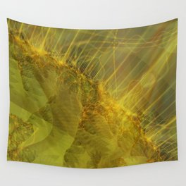 Burning Seams 1 Wall Tapestry