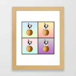 Luna & Ethereum Framed Art Print