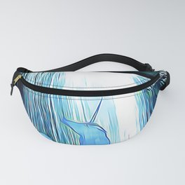 The Secret Under the Waterfall Fanny Pack