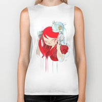 bass Biker Tanks featuring That Bass! by STUDIO KILLERS