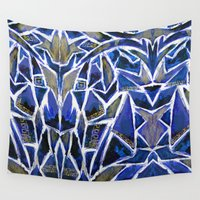 cracked Wall Tapestries featuring Cracked by Lachlan Willis