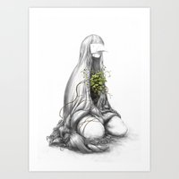 Practiced in allowing things grow Art Print