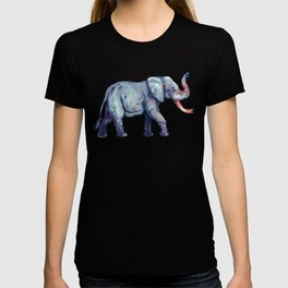 Lucky Elephant Painting T-shirt