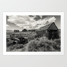 The Ghost Town Art Print