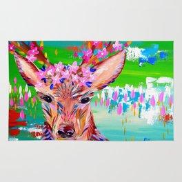 Deer Print Rug