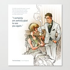 The Great Gatsby_see you again Canvas Print