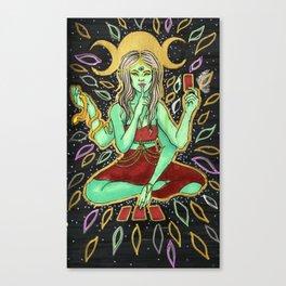 Tarot Reader Canvas Print