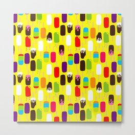 Ice Pop Summer Day Metal Print