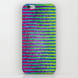 Abstract Color Stripes iPhone Skin
