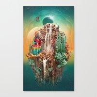 peru Canvas Prints featuring peru by Tanya_tk