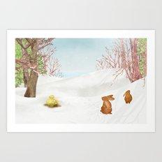 Amur adonis | Miharu Shirahata Art Print
