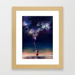 Counting Stars Framed Art Print