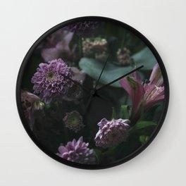 Flower feast Wall Clock