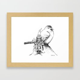 The Bird Post Framed Art Print
