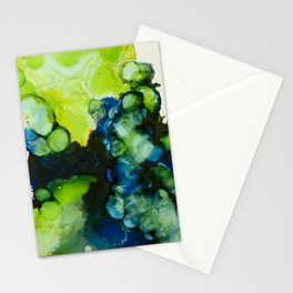 Indigo Limeade Stationery Cards