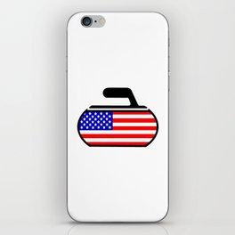 USA Curling iPhone Skin