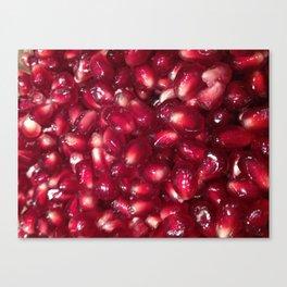 Pomegranate Seeds Canvas Print