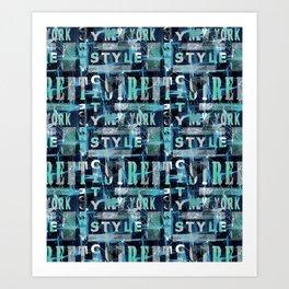 Urban style.2 Art Print