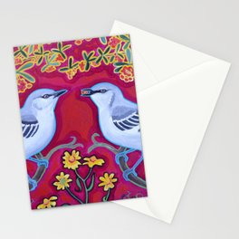 Mockers and Berries Stationery Cards
