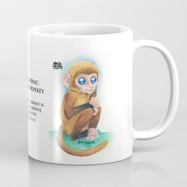 Chinese Zodiac Year of the Monkey Coffee Mug