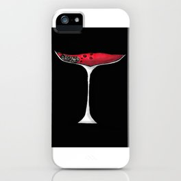THE RED PROJECT - Wine Of Knowledge . iPhone Case