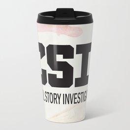 CSI: Cool Story Investigator Travel Mug