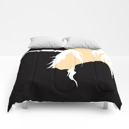 The Last Unicorn (inspired art) Comforters