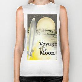 Voyage to the Moon Biker Tank