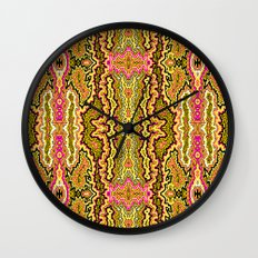 Topography Wall Clock